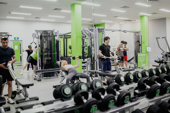 Calamvale ifeelgood 24/7 Gym Facilities